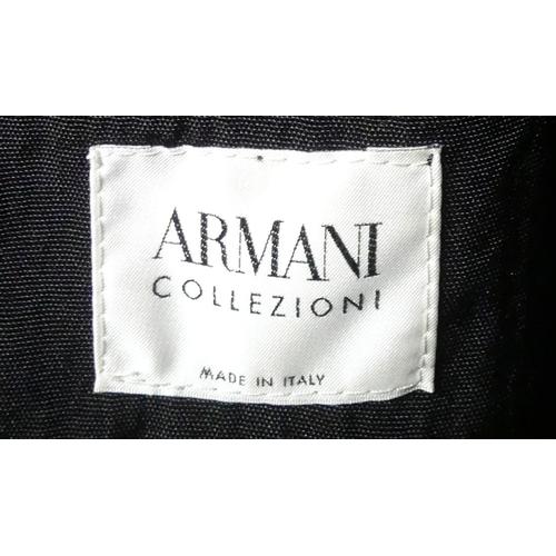327 - Armani Italian lined waterproof raincoat. Size XL. UK Postage £20.