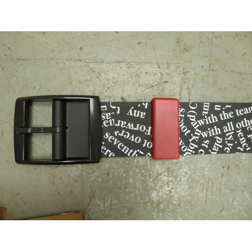 58 - A shop display Swatch watch 1992 - length 210cm (in working order)