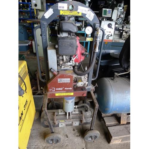 1 vacuum lifting unit by Al-Vac Model Handy 202 020 with a Honda