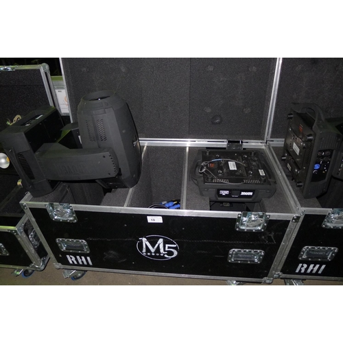 10 - 2 moving head lights by Chauvet Professional type Rogue RH-1 Hybrid, 240v, YOM 2015,  contained in a...