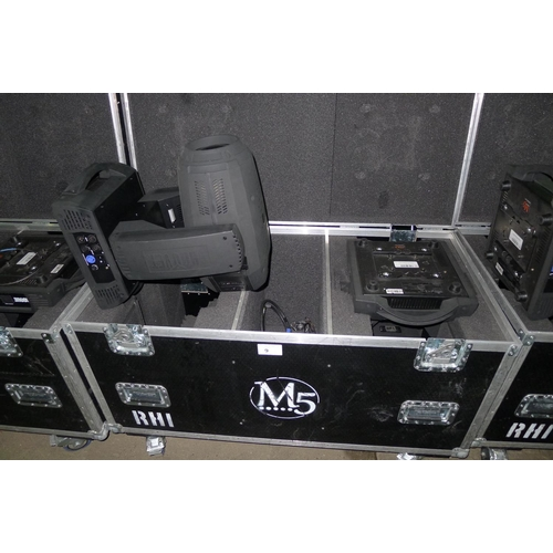 9 - 2 moving head lights by Chauvet Professional type Rogue RH-1 Hybrid, 240v, YOM 2015,  contained in a...