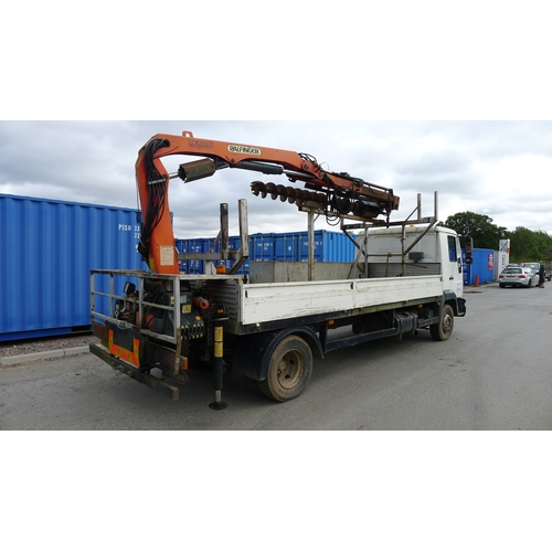3 - MAN L 2000  Reg: WX03 UMW  YoM 24/05/2003, Dropside Lorry fitted with Palfinger PK6500 crane c/w Aug...