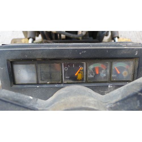 26 - 1 diesel engine forklift by Caterpillar model VC60D SA, capacity approx 3000kg, hour meter reads 197...