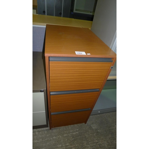 buy popular 261bb f27e8 1 wood effect 3 drawer filing cabinet