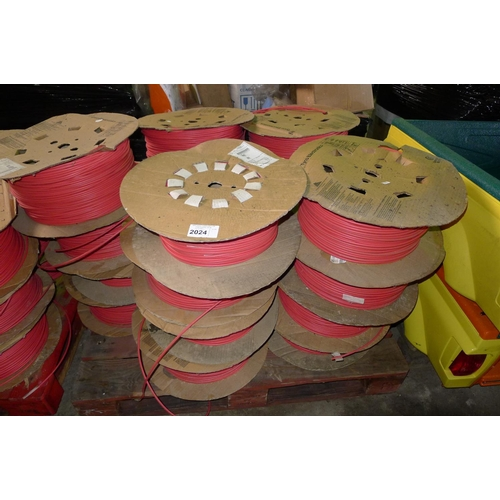2024 - 1 pallet containing a quantity of heat shrinkage tubing by Tyco Electronics...