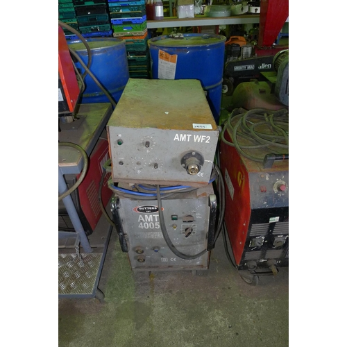2055 - 1 welder by Butters type AMT4005, 3ph with a AMT4005 WF2 wire feed unit...