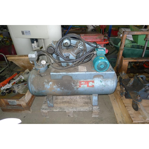 2060 - 1 workshop compressor by HPC type SH10A, 3ph...