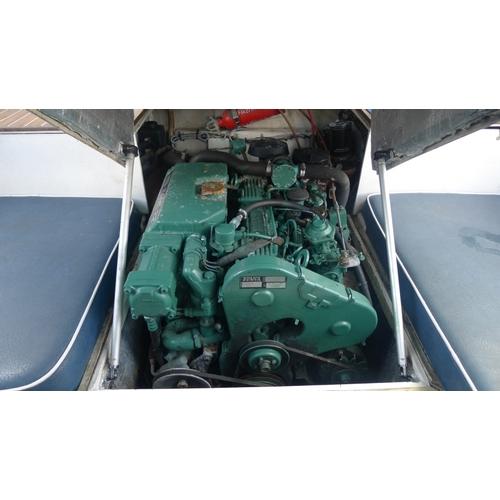 2286 - Hardy Pilot 20 SE Power boat. Yr 2000, GRP, 105 Hp Volvo TAMD22P-D inboard diesel, Volvo outdrive, e...
