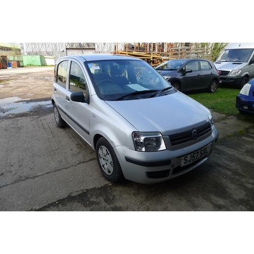 2287 - CAT ADD: Fiat Panda Dynamic 5 door hatchback REG SJ57 SXL, First registered 24/09/2007, petrol, manu...
