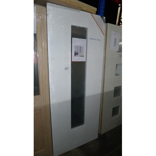 2012 - 1 Mistral hollow glazed MDF slab internal door RRP £136...