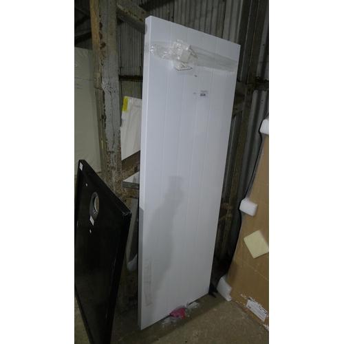 2036 - 1 Mollie vertical flat panel radiator in white 180 cm...