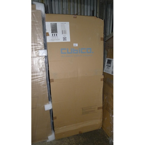 2056 - 1 Modus 800 side panel by Cubico approx 765mm x 1850mm...