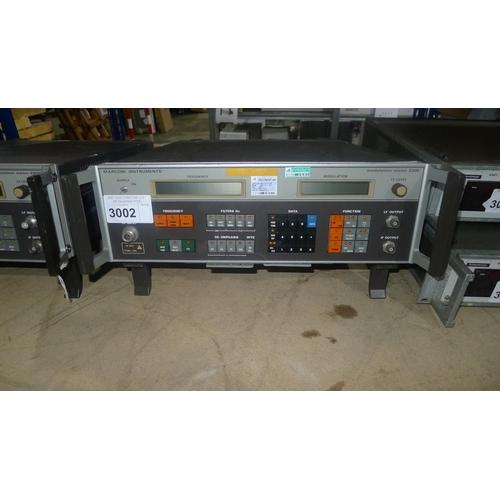 3002 - 1 Marconi modulation meter type 2305...