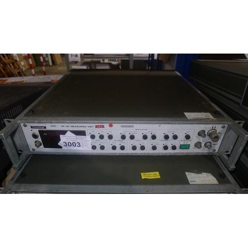 3003 - 1 Schlumberger 4901 RF-AF measuring unit...