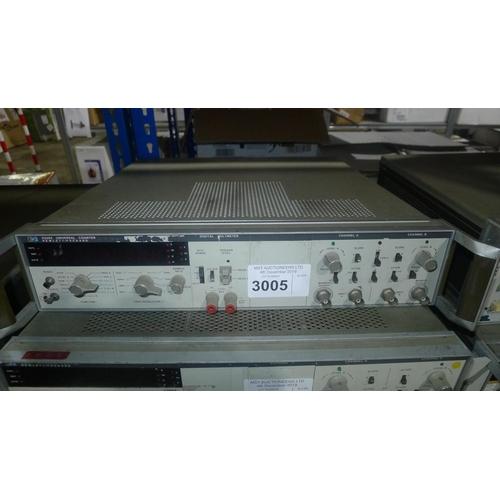 3005 - 1 Hewlett Packard 5328A universal counter with DVM option...