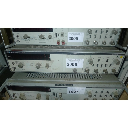 3006 - 1 Hewlett Packard 5328A universal counter with Ch C option to 512MHz...