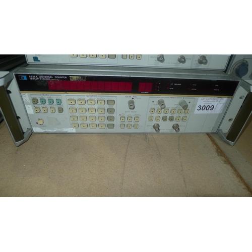 3009 - 1 Hewlett Packard 5335A universal counter - NO options...