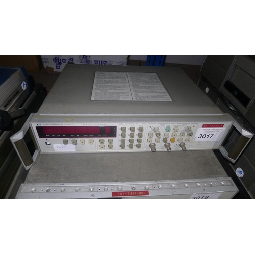 3017 - 1 Hewlett Packard 5334A universal counter...