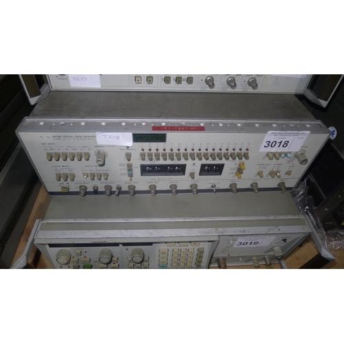3018 - 1 Hewlett Packard 8018A signal data generator...