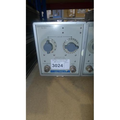 3024 - 1 Marconi TF2163S attenuator...