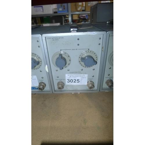 3025 - 1 Marconi TF2163S attenuator...
