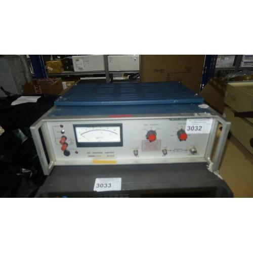3032 - 1 Racal 9104 RF power meter...