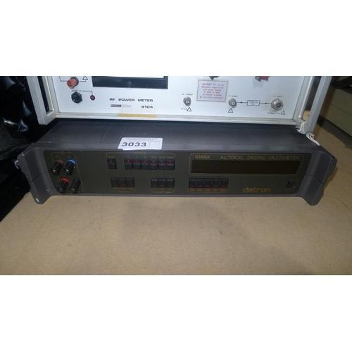 3033 - 1 Datron 1065A autocal digital multimeter...