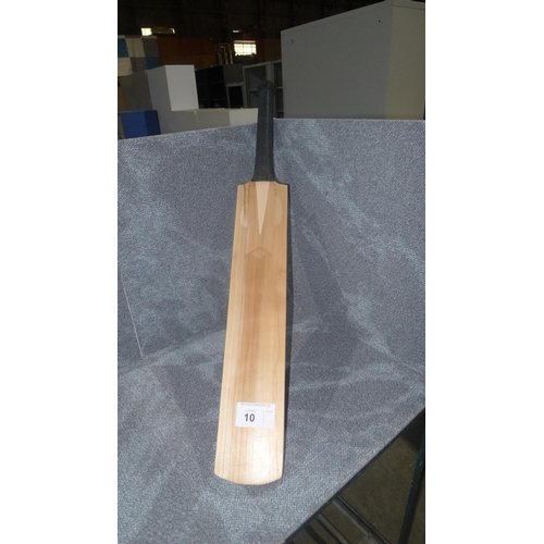 10 - 1 cricket bat  weight approx 1358 grams- no other details visible...