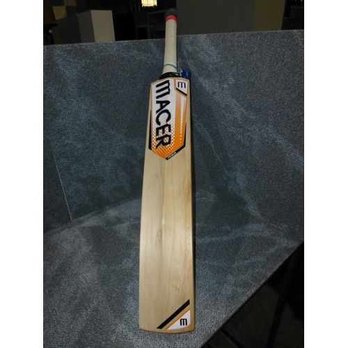 6 - 1 Macer Premium cricket bat size LH, weight approx 1193 grams...