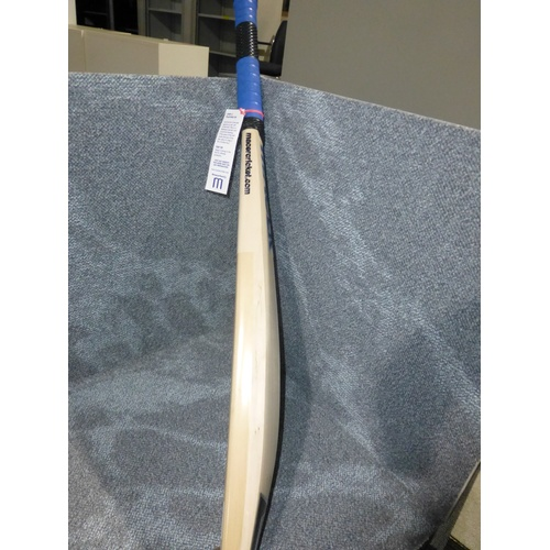 26 - 1 Macer coaching cricket bat (half width), weight approx 960 grams - no size visible...
