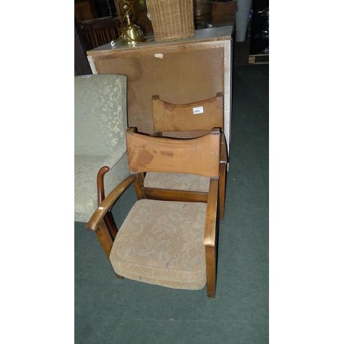 2063 - 2 children's armchairs...