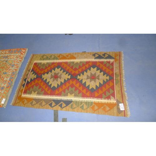 2213 - Maimana Kilim rug 130cm x 78cm