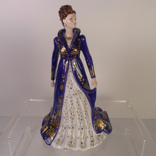 126 - A Royal Worcester figurine of a lady