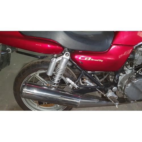 522 - Honda CB 750 - F2N Motorcycle, Red, Reg L495 OMA 1st reg 01/08/1993, 748cc  MoT 19/12/2020, Mileage ...