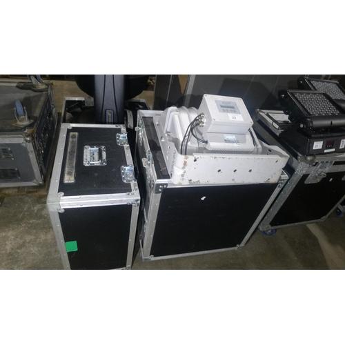22 - 1 Griven outdoor use (IP65) high power zoom optics gobo projector type GR0660 Gobostorm Plus MX2, 24...