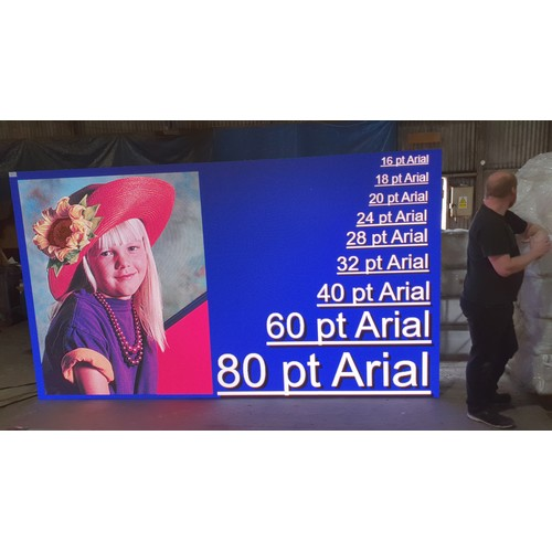 1 - A MRLED R5ZA 4.8mm Pitch Indoor/Outdoor LED Screen / Video Wall. This unit was purchased for an orde...