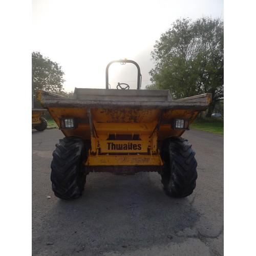 2389 - 1 Thwaites 6 ton dumper type MACH 665, YOM 2010, serial no. SLCM665Z1002 B9395 (D6-5), 2280 hours, I...