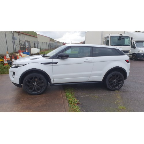 1010 - WITHDRAWN ... Debtor has paid .. Range Rover Evoque Dynami Coupe,  Reg LD07 JLD (private plate), 1st...