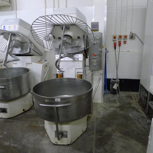 350 - 1 large capacity (200kg) mixer by MF Italy / Esmach, no other details visible but probably model Imp...