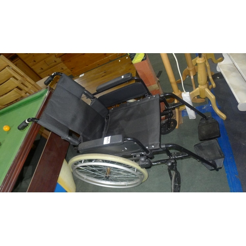 1290 - 1 wheelchair by Remploy type Dash Lite (no brakes on attendant handles)...