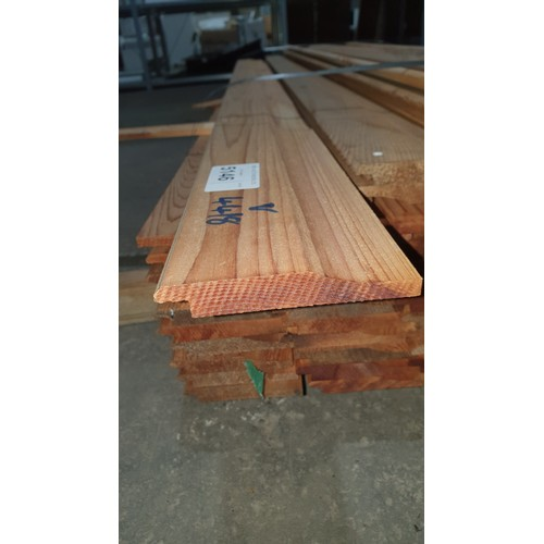 5146 - A quantity of approx 82 lengths of Cedar lap board each at approx 12cm x 1.8cm x 215cm long - some a...