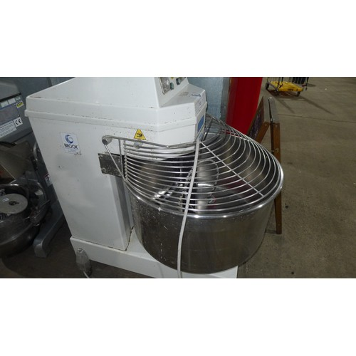 3287 - A large industrial food mixer by Miker type START160AUT - 2011. 3ph trade...