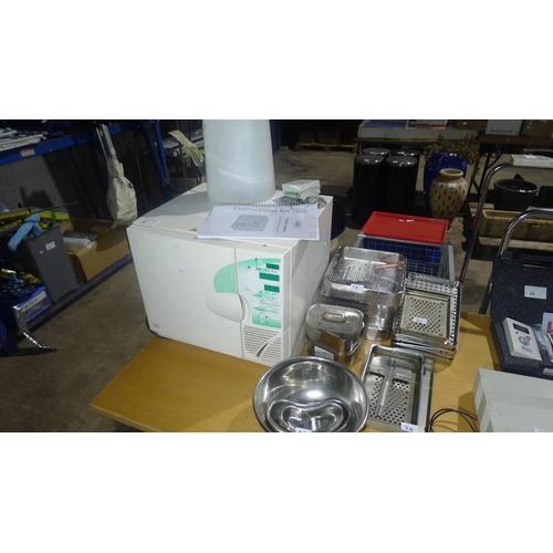 26 - A commercial vacuum and non vacuum autoclave / sterilizer type C3 Advance by Prestige Medical, units...
