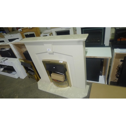 2081 - 1 fireplace surround - NO heater included...