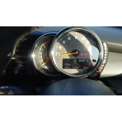 5440 - Mini Cooper Convertible 1.5 2DR, Black, Euro6, Reg LC17 NZR  28/04/2017,  6spd Manual Petrol 1499cc ...