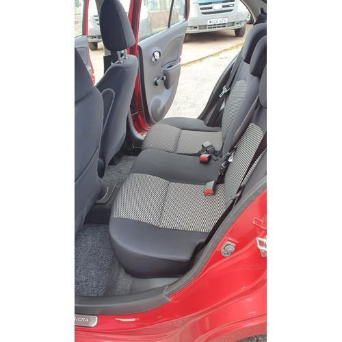 5438 - Nissan Micra Acenta, 5dr Hatch, Red, Reg WF17 WFK, 31/03/2017, 5sp manual Petrol, 1198cc, 80 Bhp, Ne...