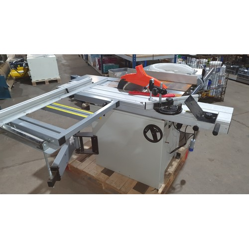 5315 - 1 sliding bed panel saw type Trade AT315PS/PS315, 240v (blue industrial plug), RRP £1709 (SP016480)...