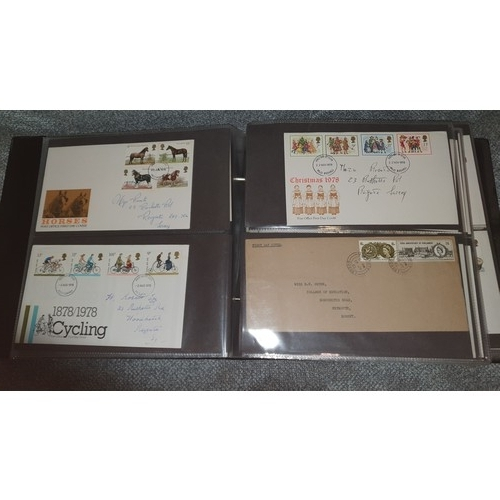 1001B - 1 album of First Day Covers 1970s & 1980s worldwide.