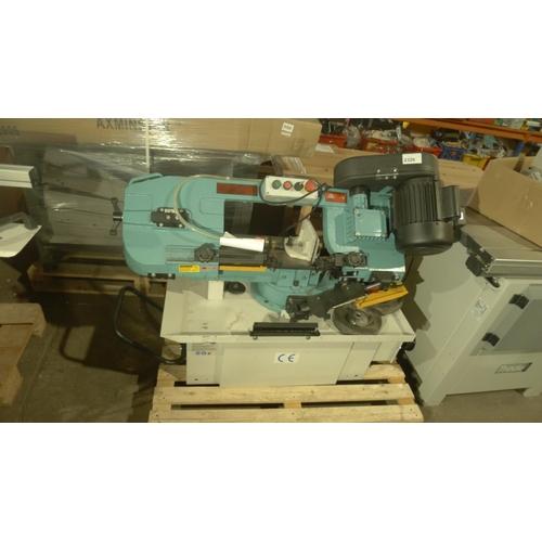 2326 - 1 horizontal metal cutting band saw type Engineer Series UE-712SB, 240v, RRP £1839 (SP017420)