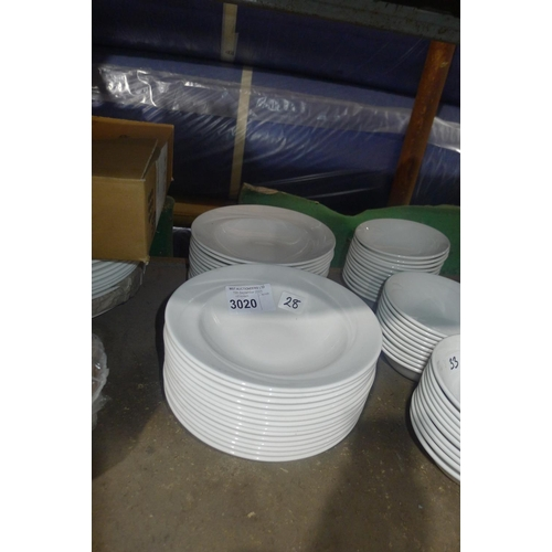 3020 - 28 soup bowls by Steelite type Alvo Distinction